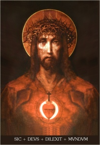 O Christ, Grant that I may love with Thy Sacred Heart.