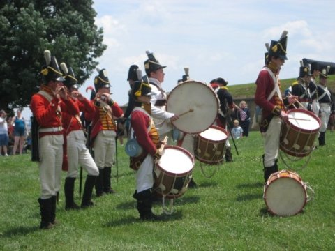 The Fife and Drum Corps