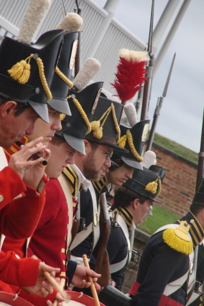 Our illustrious Fife and Drums Corps